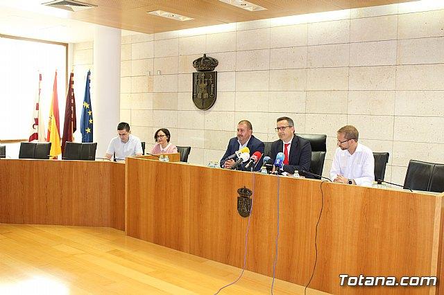 Diego Conesa anuncia una modificación del trazado del Corredor Mediterráneo en Totana para minimizar el impacto sobre los vecinos - 9