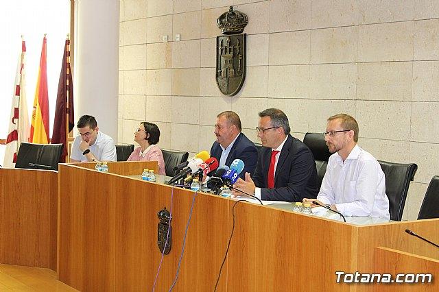 Diego Conesa anuncia una modificación del trazado del Corredor Mediterráneo en Totana para minimizar el impacto sobre los vecinos - 11