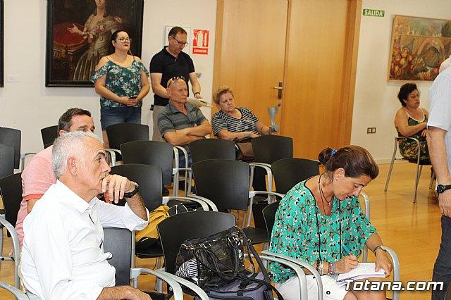 Diego Conesa anuncia una modificación del trazado del Corredor Mediterráneo en Totana para minimizar el impacto sobre los vecinos - 12