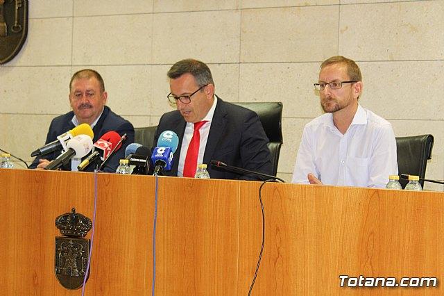 Diego Conesa anuncia una modificación del trazado del Corredor Mediterráneo en Totana para minimizar el impacto sobre los vecinos - 14