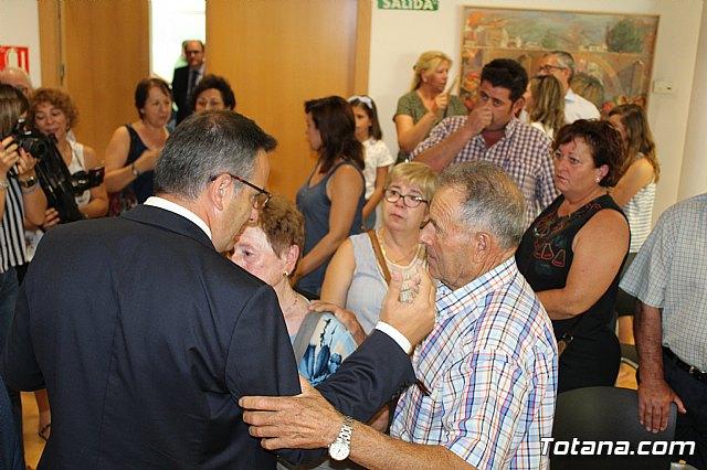 Diego Conesa anuncia una modificación del trazado del Corredor Mediterráneo en Totana para minimizar el impacto sobre los vecinos - 16
