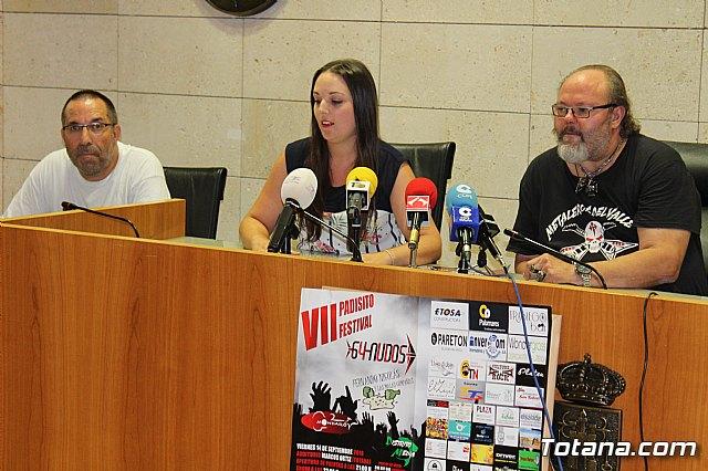 El VII Padisito Festival y el II Totana Metal Fest se celebrarán el fin de semana del 14 y 15 de septiembre, respectivamente - 5