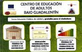 Comienza mañana de forma oficial el curso en el Centro de Educaci�n de Adultos, cuyas enseñanzas se imparten en el antiguo IES de la avenida de Lorca