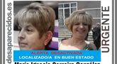 Encuentran en buen estado a la vecina de Totana desaparecida a finales de agosto, María Ignacia Carreira