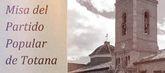 El PP celebrará una eucaristía en memoria de sus afiliados y simpatizantes fallecidos