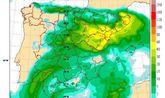 Situación de lluvias intensas en el Mediterráneo a partir del jueves