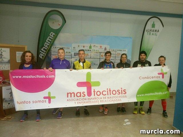 La mastocitosis visible en Alhama Trail gracias a los atletas solidarios - 9