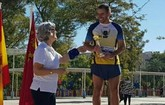 Michi, del Club Atletismo Totana, subcampe�n en la carrera popular Manos Unidas de Murcia