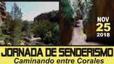 Organizan una Ruta de Senderismo al Estrecho de la Arboleja, el próximo 25 de noviembre