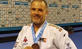 Mario Sierra recibe el Premio al Mejor Judoka Masculino Veterano Nacional