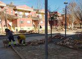 Obras de acondicionamiento en las calles Religiosas Amor de Dios y Don Francisco Pascual