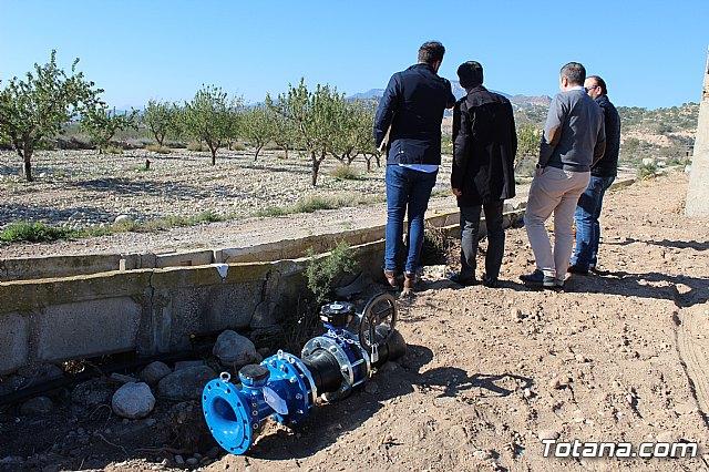 La comunidad de regantes de Totana ahorra un 10% de agua tras sustituir su canalización tradicional por una nueva tubería - 5