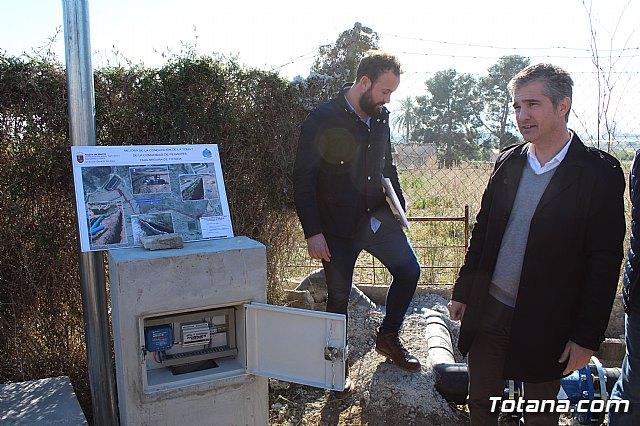 La comunidad de regantes de Totana ahorra un 10% de agua tras sustituir su canalización tradicional por una nueva tubería - 15