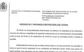 Juan José Cánovas hace pública la exposición del fiscal sobre la querella de los pasos de cebra