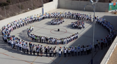 """El CEIP La Cruz saca su mejor sonrisa en el """"Día de la Paz"""""""