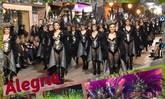 La Peña Alegría de Totana, primer premio comparsas foráneas del III Concurso Desfile de Comparsas de Carnaval de Torre Pacheco