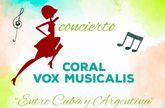 La Coral Vox Musicalis ofrecerá el concierto 'Entre Cuba y Argentina' el próximo domingo en la Capilla de la Milagrosa
