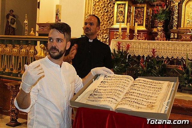 Se presenta el Manuscrito Musical descubierto en el verano del 2017 en la parroquia de Santiago El Mayor - 20