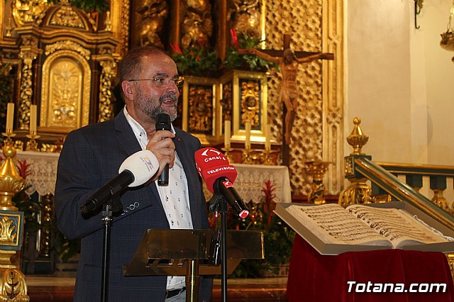 Se presenta el Manuscrito Musical descubierto en el verano del 2017 en la parroquia de Santiago El Mayor - 15