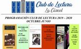 Los interesados en participar en el programa Club de Lectura 2019/20 han de inscribirse del 9 al 20 de septiembre a trav�s de la Biblioteca Municipal Mateo Garc�a