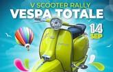 El V scooter rally Club Vespa Totale tendrá lugar el próximo 14 de septiembre