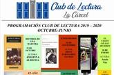 El Club de Lectura 2019/20 fija este curso, como novedad, el establecimiento de turnos de mañana o tarde
