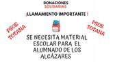 El PSOE de Totana se suma a la campaña de ayuda a Los Alcázares