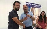 Un nuevo emprendedor ocupa un despacho en el Vivero de Empresas del pol�gono industrial El Saladar