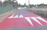 Construyen varios saltos o reductores de velocidad en el Camino de la Torreta con el fin garantizar la seguridad a viandantes y vecinos de la zona