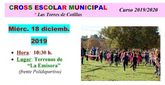 El cross escolar 2019 de Las Torres de Cotillas espera 1.200 corredores