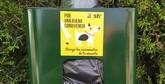STV inicia la instalación de 50 papeleras con bolsas para excrementos caninos en todo el municipio