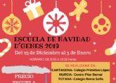 D�Genes oferta una Escuela de Navidad en Totana, Murcia y Cartagena