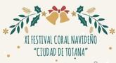 Mañana tendrá lugar el XI Festival Coral Navideño 'Ciudad de Totana'