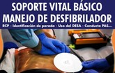 Organizan un Curso de Soporte Vital B�sico (SVB) con Manejo de Desfibrilador