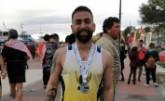 Borja Martínez representa al CAT en la Media Maratón de Santa Pola