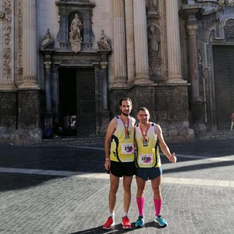 El CAT participó en cuatro pruebas este domingo subiendo al podio en los 21Km de la Murcia Maratón - 1