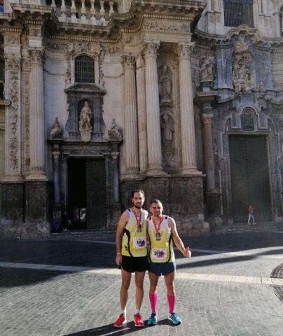 El CAT participó en cuatro pruebas este domingo subiendo al podio en los 21Km de la Murcia Maratón - 2
