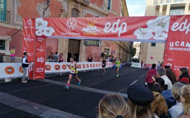 El CAT participó en cuatro pruebas este domingo subiendo al podio en los 21Km de la Murcia Maratón - 4