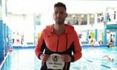 El nadador Roberto Veiga, último fichaje del SOS Murcia, se hace con tres récords absolutos de la Región