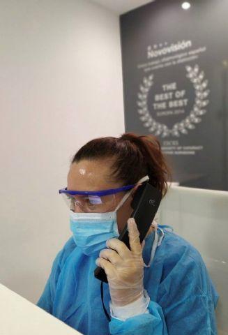Hay que evitar la exposición de los ojos al coronavirus y protegerse bien - 1, Foto 1