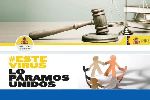 Justicia garantiza la transferencia de las cantidades depositadas en los juzgados para el pago de indemnizaciones a víctimas, pensiones de alimentos y salarios durante el Estado de alarma - 1, Foto 1