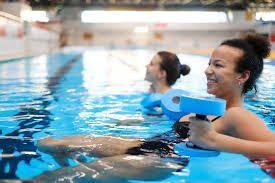 Los ejercicios en el agua, un deporte infravalorado, según Piscinas Lara - 1, Foto 1