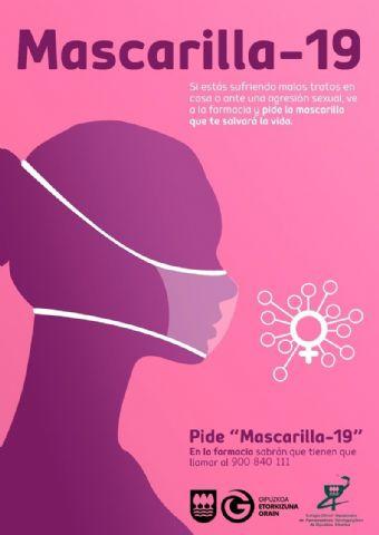 Las farmacias guipuzcoanas se suman a ´Mascarilla 19´, para ayudar a mujeres víctimas de violencia machista - 1, Foto 1