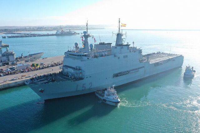 La Armada enviará el buque ´Galicia´ para reforzar la sanidad en Melilla - 1, Foto 1