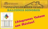 """La Agrupaci�n Musical de Totana promueve la actividad """"Balcones sonoros"""""""