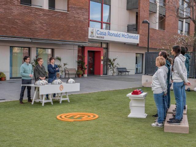 MasterChef rinde un homenaje a la Fundación Infantil Ronald McDonald con un cocinado solidario - 1, Foto 1