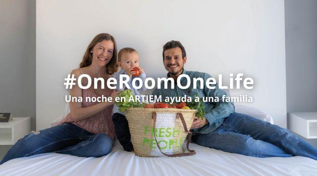 #OneRoomOneLife, una noche en ARTIEM ayuda a una familia - 1, Foto 1