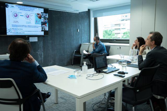 Pedro Duque se reúne con los responsables de proyectos que buscan nuevos test diagnósticos dentro del Fondo COVID - 1, Foto 1