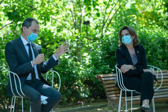 Teresa Ribera y Pedro Duque celebran el día del Medio Ambiente con un coloquio científico en el Real Jardín Botánico - 1, Foto 1