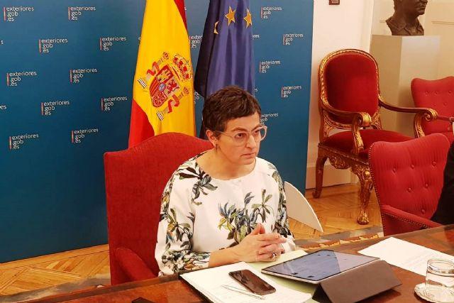 González Laya se reúne con socios europeos para coordinar las medidas necesarias para garantizar la libertad de circulación en la UE este verano - 1, Foto 1